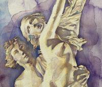 - Apoll und Daphne Aquarell Sara Heinrich Fine Art