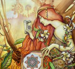 NEU Morning has brocken Pastell Gouche Sara Heinrich Fine Art
