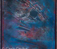 - Torpedierung 65x65cm im Schattenfugenrahmen Gerit Grube