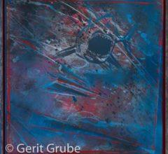 Torpedierung 65x65cm im Schattenfugenrahmen Gerit Grube