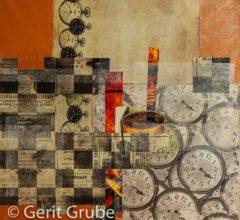 Zeitzeugen 50x50 cm Gerit Grube