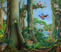 - Grenzenlose Vielfalt der Evolution 160b x 120h O El Leinwand