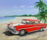 - Karibik 100b x 80h Acryl Leinwand