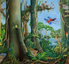 Grenzenlose Vielfalt der Evolution 160b x 120h O El Leinwand
