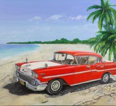 Karibik 100b x 80h Acryl Leinwand