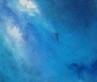 - Anne Beecken Drei Blaue 1