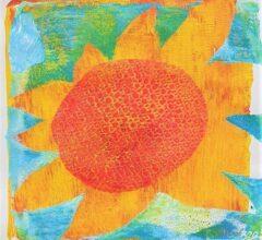 Anne Beecken Sonnenblume 4