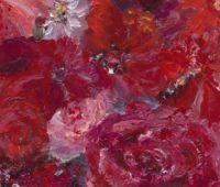 Rote Blumen-Ausschnitt - Rote Blumen-Ausschnitt