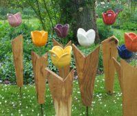- Tulpen-Stehle