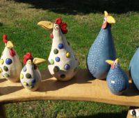 - Punkte- und Perlhühner