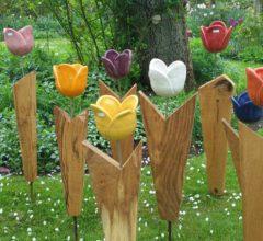 Tulpen-Stehle